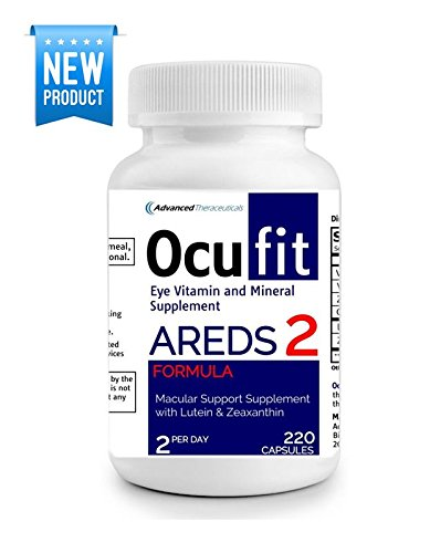 Areds Formula Eye Vitamins - Ocufit AREDS 2 Formula Eye Vitamin & Mineral Supplement (220/CT) Free Shipping