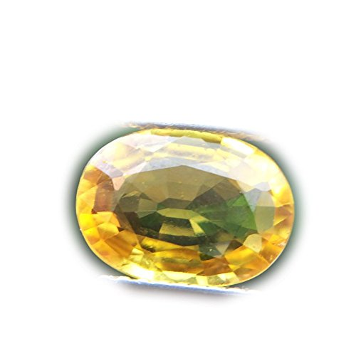 Lovemom 1.92ct Natural Oval Yellow Sapphire Sri-Lanka ()