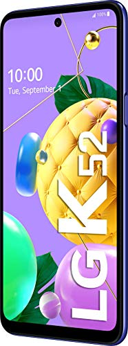 LG K52 – Smartphone 64GB, 4GB RAM, Dual Sim, Blue