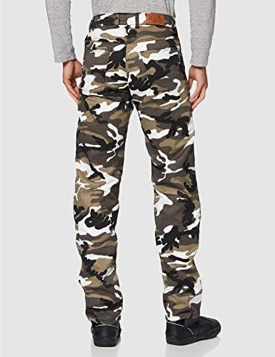 Nueva Carga Camo Kevlar Jeans Moto BG Blindados CE Grey Camo Talla:32S