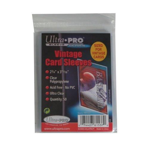 Ultra Pro Vintage Card Sleeve - -