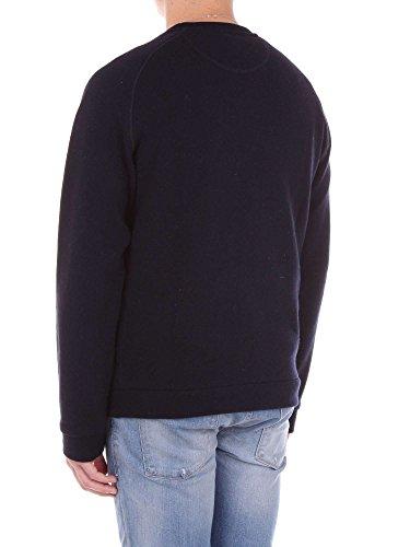 Light Uomo Wool Cod Dark Wofel1092 Felpa Cotton Melange Navy Effetto Woolrich Crew Lw01 8gq5X6ngd