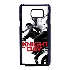Knight And Day High Resolution Poster Samsung Galaxy Note 5 Cell Phone Case Black Cell Phone Case Cover EEECBCAAK73758