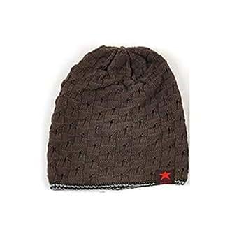WANK Gorro de Punto para Hombre de Invierno cálido Sombrero de Punto ... 5486b5f7f36