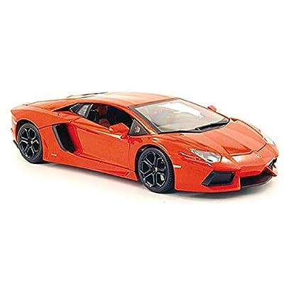 New Lamborghini Aventador LP700-4 1/18 Scale (Orange): Toys & Games