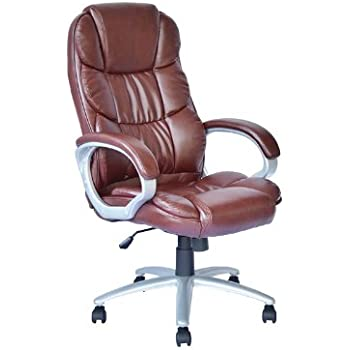 High Back Executive Leather Ergonomic Office Desk Computer Chair O10R