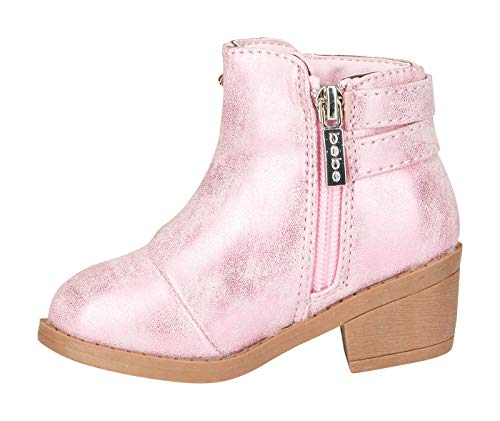 bebe Toddler Girls Metallic Boots Size 8 with