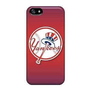 DateniasNecapeer Premium Protective Hard Cases For Iphone 5/5s- Nice Design - New York Yankees