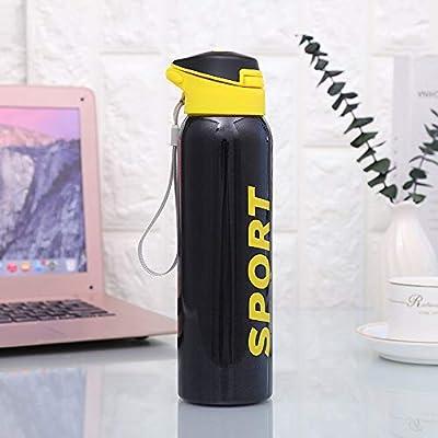 Amazon.com: Runninglion Botella de agua con pajita de 16 ...