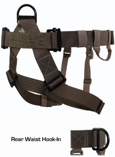 ATTACK! OpGear RAIDER Rappelling Harness - Ranger Green