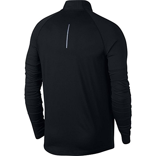 Nike Men's Element 1/2 Zip Running Top Black Size Small by Nike (Image #2)