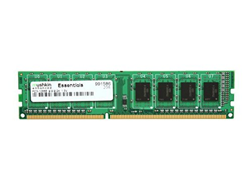 Mushkin PC3-10666 memory 2 GB (1333 MHz 240-pin DDR3-RAM kit)