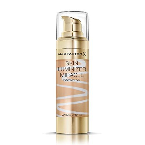 (Max Factor Skin Luminizer Foundation, No. 45 Warm Almond)