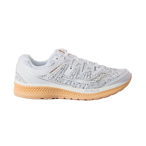 White Running para de Zapatillas Triumph ISO 4 Saucony W Mujer fFxqZzHCw