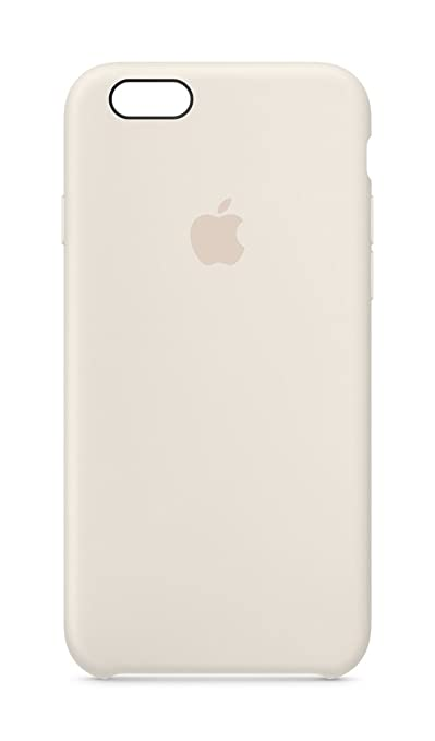 27 opinioni per Apple BT-MLCX2ZMA Custodie in Silicone per iPhone 6S, Bianco