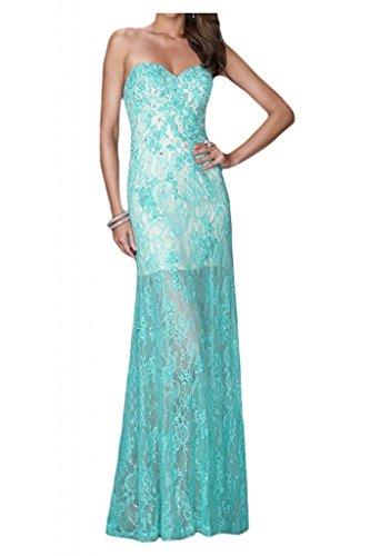 Por la noche en forma de corazón de la Toscana novia con estilo largo al bola vestidos de encaje de la ropa