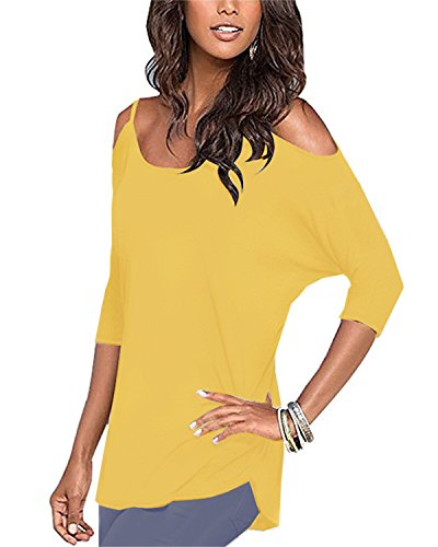 Styleword Womens Three quarter Sleeves Shoulder product image
