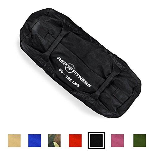 Rep Fitness Sandbag - Large, Black, 50-125 lbs