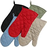 Set of 5 Home Store Cotton Oven Mitts Kitchen Linens Collections Textiles