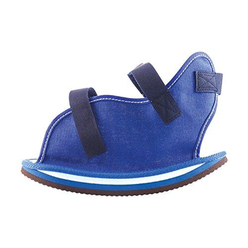 Dmi Rocker Bottom Cast Shoe Post Op Shoe Medium Blue
