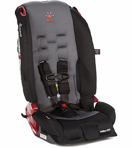 Diono Radian R100 Convertible + Booster Car Seat, Graphite
