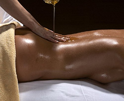 Sexy oil massages
