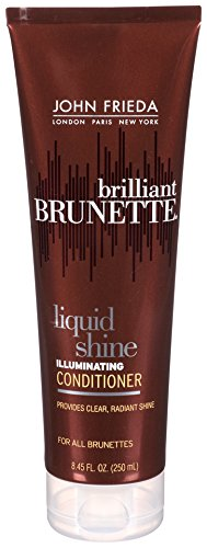 John Frieda Brilliant Brunette Liquid Shine Illuminating Conditioner, 8.45 Ounce