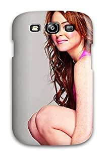New Lindsay Lohan Gorgeous Tpu Case Cover, Anti-scratch OZpBgDg6886krtZg Phone Case For Galaxy S3