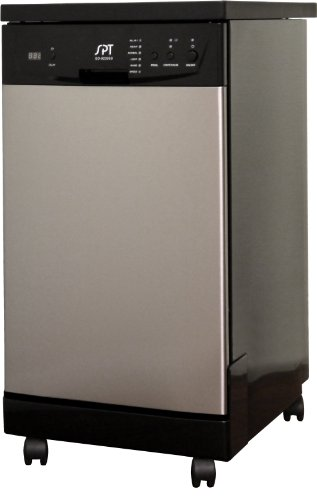 SD-9241SS1: 18″ Energy Star Portable Dishwasher – Stainless Steel