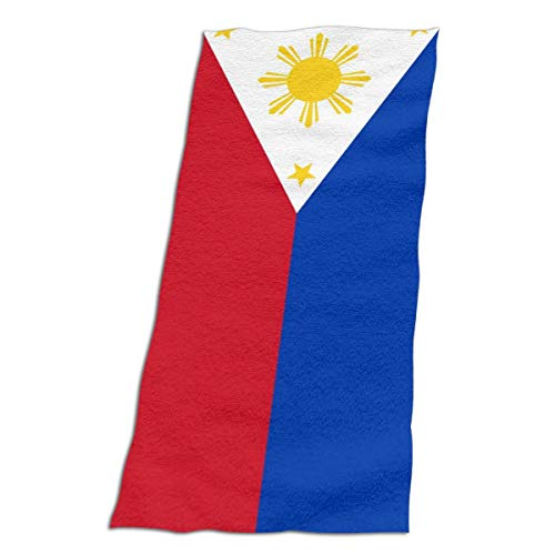 CFX-HY7 Unisex Flag of The Philippines Beach Towel, Oversize Bath Towels for Kids Adult, ()