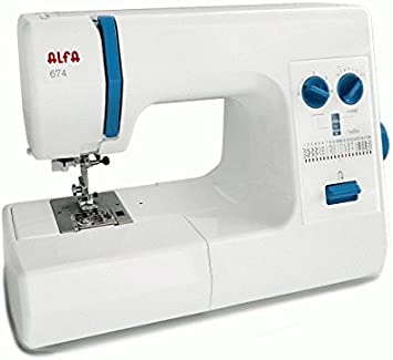 Maquina de coser Alfa 674 Profesional: Amazon.es: Hogar