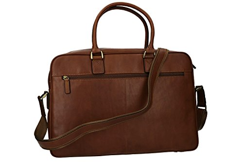 portadocumenti professionale vera VH149 in marrone Cartella borsa ufficio pelle nUwWxTTZ7