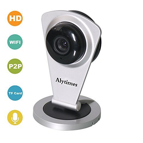 Alytimes Wireless HD IP/Network Indoor Camera with ONVIF,Plug & Play H.264 1280720P Night Vision, Two-Way Audio and Phone remote monitoring
