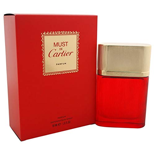 Cartier Must de Parfum Spray for Women, 1.6 Ounce