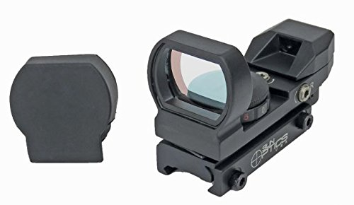 Sun Optics USA Electronic 23 x 33 mm Reflex Sight Red/Green Infra Red 4-Reticle Sighting Device