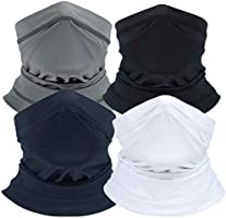 SYOURSELF Summer UV Protection Face Cover Neck Gaiter Breathable Neckwear for Sun Dust Wind