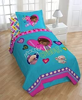 Amazon.com: Disney Junior Doc McStuffins 3 Piece Twin Sheet Set ...