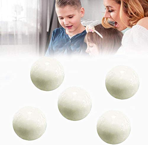 PKLMN Noctilucent Luminous Anti Stress Squeeze Sticky Ball Sticky Globbles Ball Stress Toy Balls Throw at Ceiling Decompression Ball Luminescent Sticky Balls (5pcs Luminous)