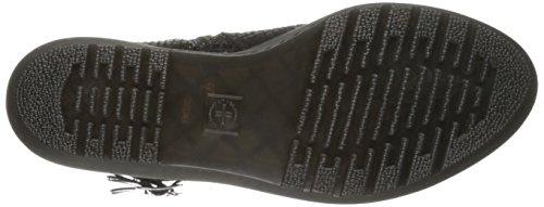 Martens Dr Boots Shine Caitlin Black Hi Lamper Snake Noir femme qqCrwfxd
