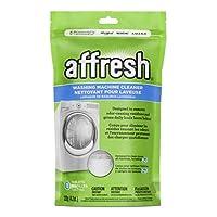 Whirlpool - Limpiador para lavadoras de alta eficiencia Affresh, 3 tabletas, 4.2 onzas