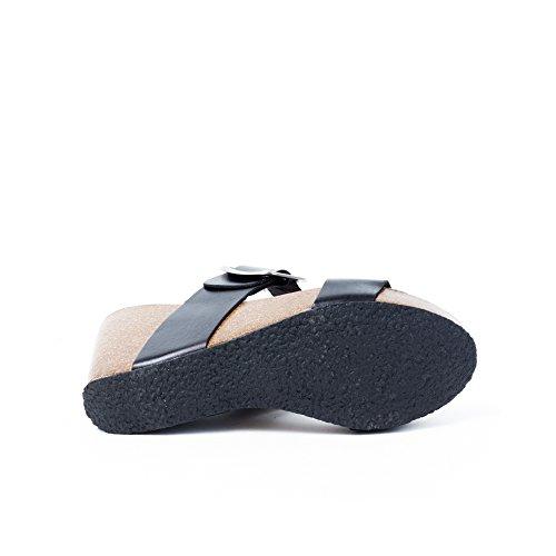 Nero sandali 38 Sabot Plakton Eu Donna nero wHg1txaq