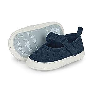 Sterntaler Baby-Ballerina, Bailarinas para Bebés, Azul (Marine 300), 19/20 EU