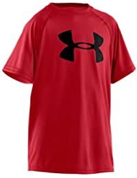 Boys' Tech Big Logo Short Sleeve T-Shirt