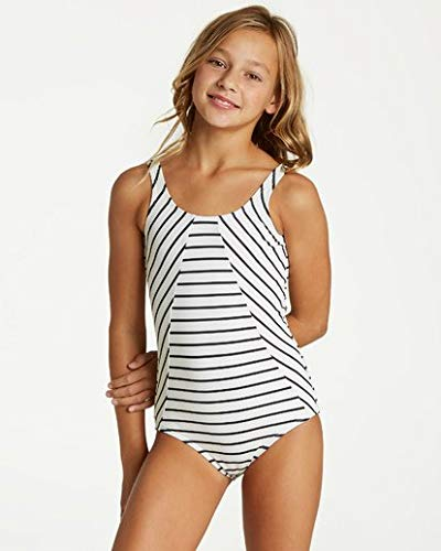 Billabong Girls' Girls' Groovy Night One Piece Swim White 8