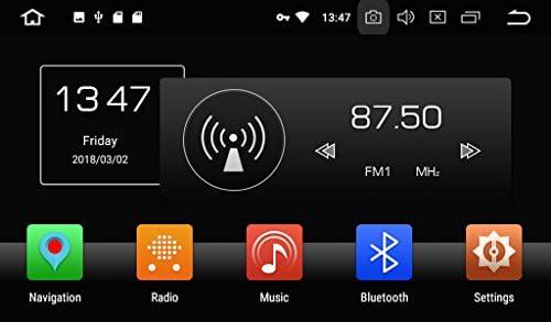 KUNFINE Android 9.0 8核自動車GPSナビゲーション マルチメディアプレーヤー 自動車音響 本田 HONDA CRZ 自動車ラジオハンドル制御WiFiブルースティスト