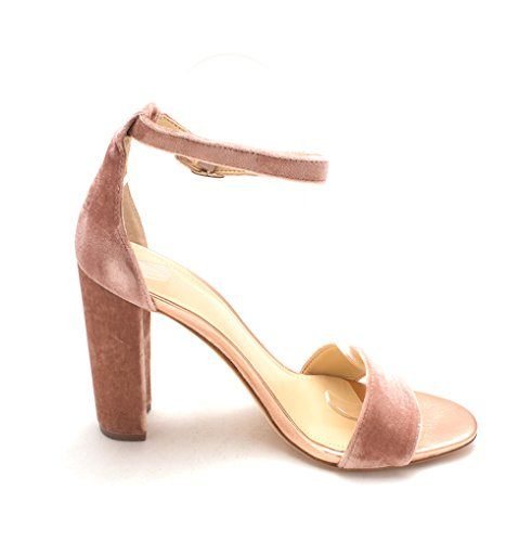 Light Ocasión Pink con Emalyn2 Tobillo TRUMP Correa Fabric IVANKA Especial de Abierta Mujeres Punta Sandalias qwSOx7v