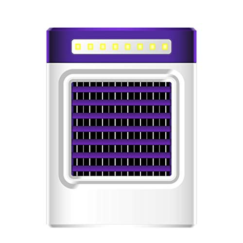 Ktyssp New Charging S9 Mini Portable Air Conditioning Fan Home Refrigerator Cooler (Purple) (Final Fantasy 1x)