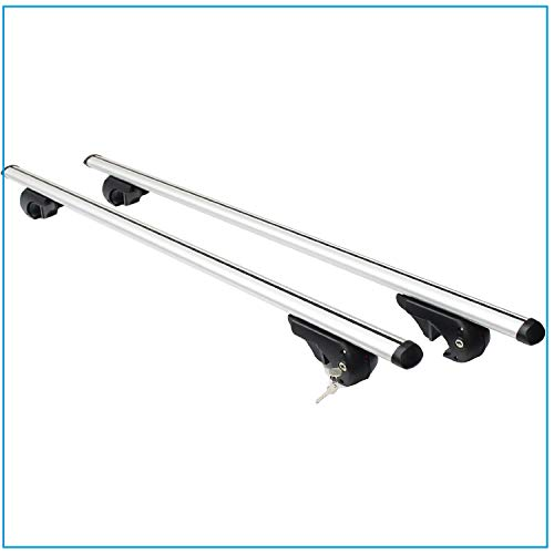 Transporting & Storage ALUMINIUM ROOF BARS PREALPINA LP56 WITH SPECIFIC CLAMPING KIT