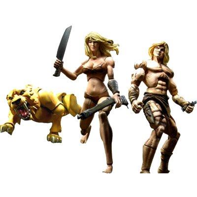 Marvel Legends Marvel Heroes SDCC Exclusive Savage Land Action Figures Box Set of 3