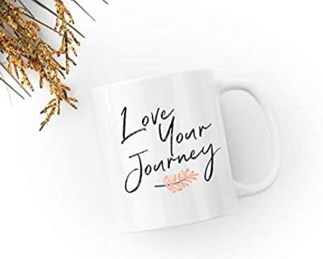 Amazon.com: Love Your Journey Coffee Mug, Graduation Gift ...
